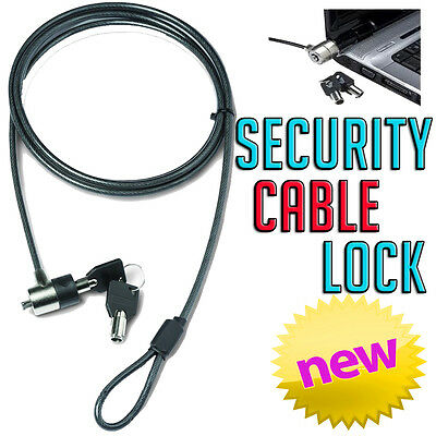 Dicota Guard 2 Kensington slot Key Cable Security Lock HP Sony Toshiba Laptop PC