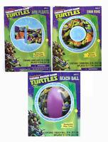 Teenage Mutant Ninja Turtles Kids Set Swim Ring Tube + Arm Floats + Beach Ball