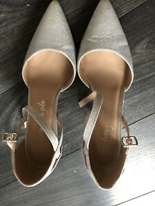 Wide Fit Size 8 Glitter New Look Shoes
