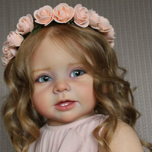 Unpainted-Vinyl-Doll-Kits-Supplies-Full-Limbs-Mold-for-28-034-Lifelike-Toddler-Doll
