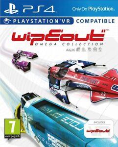 WipeOut-Omega-COLLEZIONE-PS4-Playstation-VR-COMPATIBILE-NUOVO-e-SIGILLATO