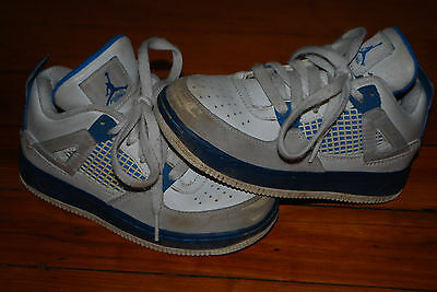new styles a58c4 a5843 Nike Air Jordan IV 4's Military Blue / Off White Sneaker (11.5C) 365161-141    eBay