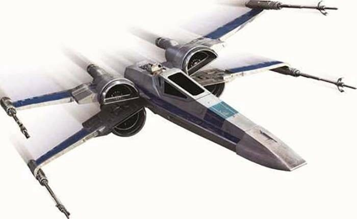 Hot Wheels Elite STAR WARS WARS WARS THE FORCE AWAKENS Episode 7 Resistance X-Wing Fighter 04c7eb