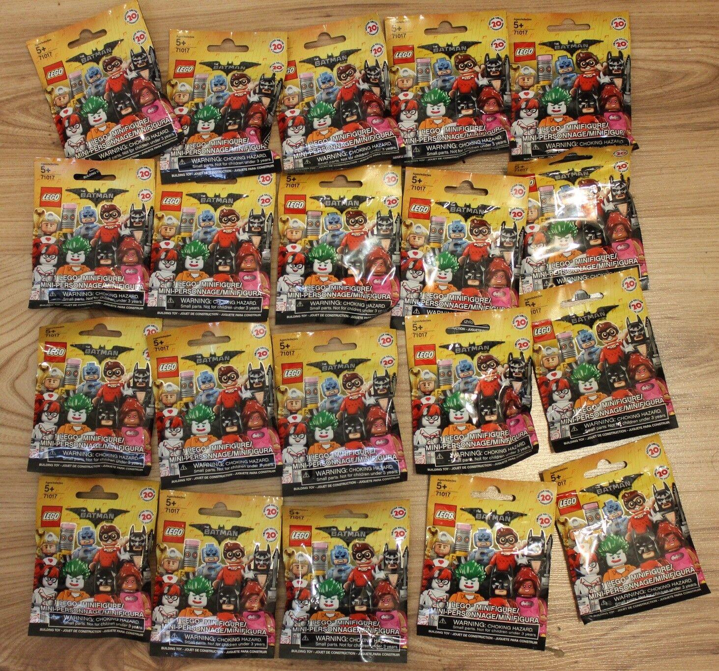 20 figurines différentes lego batman minifigure movie 71017 , série série série complète 637a3f