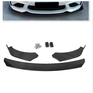 Universal-Front-Bumper-Lip-Body-Kit-Spoiler-For-Mazda-BMW-Honda-Civic-Benz