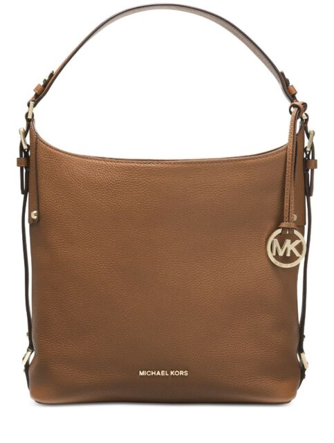 56d30015e5c382 Michael Kors Signature Bedford Belted Large Shoulder Bag 38H6GBFL3L ...