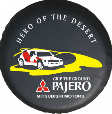 "R16 New For Mitsubishi Pajero world map Spare Wheel Tire Cover Fit Size 30-31/"""