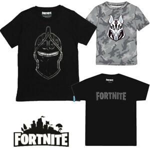 Boys Kids Fortnite 100% Cotton Gaming T Shirt Top t-shirt Age 11 12 13 14 Years