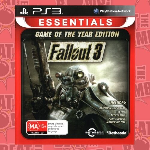 1 of 1 - Fallout 3 GOTY Edition  - PlayStation 3 game - BRAND NEW