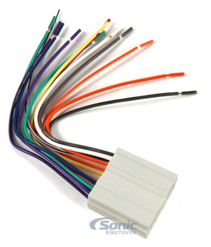 Scosche MI02B Aftermarket Stereo Wire Harness for Select 94-Up Dodge//Mitsubishi
