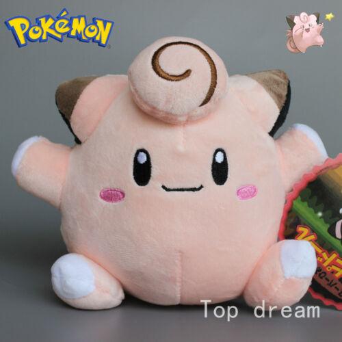 New Anime Clefairy Soft Plush Stuffed Doll Toy 15cm 6/'/' Teddy Kids Gift