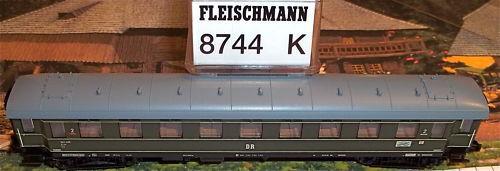 Dr Treno Espresso Lieg di Ewagen Fleischmann 8744 Nuovo 1:160 N Conf. Orig. Hq3
