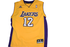 Details about NBA Los Angeles Lakers Jersey KOBE BRYANT 12 NUMBER For Teens \ Kids *limited ed