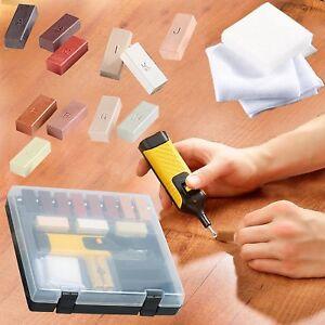 19pcs-Laminate-Repair-Kit-Wax-System-Floor-Worktop-Sturdy-Case-Chips-Scratches