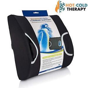Vaunn Medical Lumbar Back Support Cushion Pillow With Warm