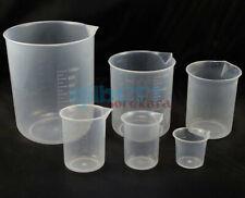 25501002505001000ml Measuring Cup Graduated Plastic Beaker Multiple