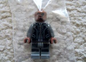 LEGO-Marvel-Super-Heroes-Rare-Nick-Fury-w-Leather-Trench-Coat-76042-New