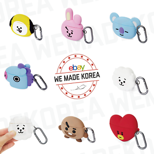 BT21 Character Basic Airpod Case Cover Skin 7types Official K-POP Authentic MD