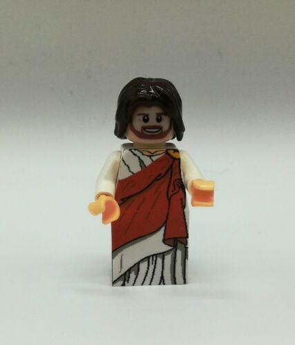 LEGO Jesus Minifigur Bibel
