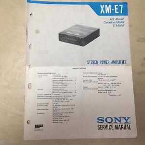 40227 sony xm-n1004 4/3/2 channel 1000w max bridgeable car power.