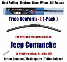 Super Premium NeoForm Wiper Blade 1-Pack fits 1986-1992 Jeep Comanche - 16180