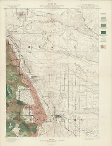 1899-USGS-Map-034-Rapid-Quadrangle-034-S-Dakota-Original-lithograph