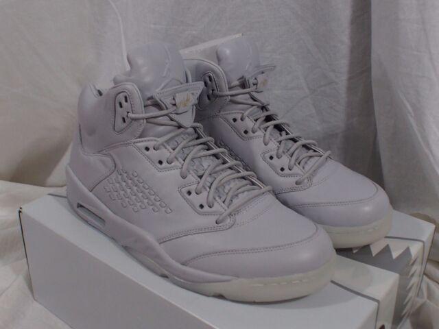 Buy Nike Air Jordan 5 Retro Prem Premium V Pure Platinum Men Aj5 Sz ... be7b413af3