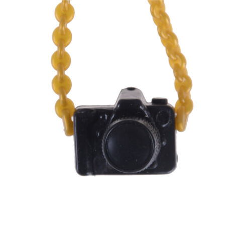 Digital Camera 1:12 Dollhouse Metal Miniature Accessory Decor GifRh SP