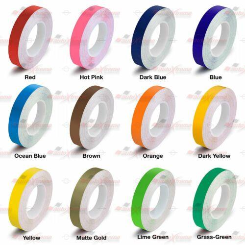 "3mm 1//8/"" PinStriping Stripe Tape Body Decal Vinyl Sticker CARBON FIBER DARK GREY"