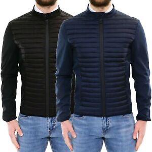eccezionale gamma di stili fabbrica compra meglio Giubbotto Uomo Slim Fit Blu Nero Impermeabile Giacca a Vento ...