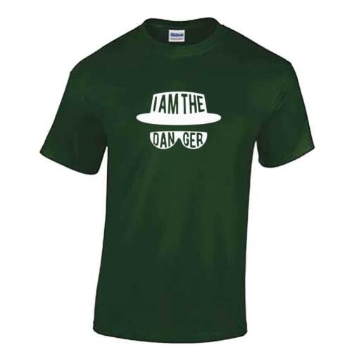 Yo soy el peligro Camiseta Unisex-Breaking Bad Heisenberg Culto TV Walter White