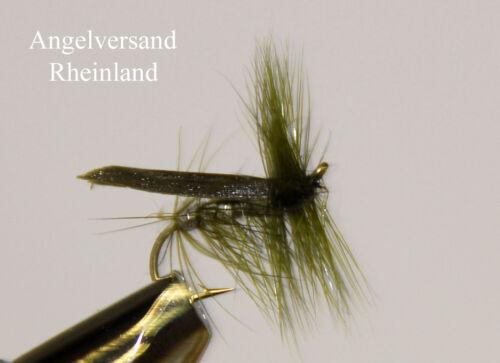 3 Olive Sedge Silverhorn  Hakengröße #10 #14 wählbar by Angelversand Rheinland