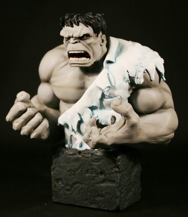 Incrotible hulk - mini-bust   le grau - version 2000   mib bowen - designs