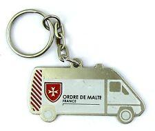 PORTE CLES KEYCHAIN ORDRE DE MALTE FRANCE