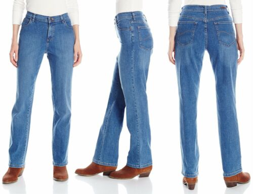 Fit Lee Nieuwe Chocolate Women's Relaxed 14p Tags Jeans Leg 8sp Straight Denim Fpqw5xRpr