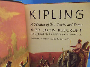Details About Rudyard Kipling A Selection Of His Stories And Poems Beecroft Vol 11956 Hc