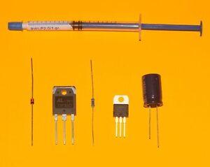 u.a besseren TIP33C SAECO Brühgruppe blockiert 5V-Versg Reparaturset 5 Teile