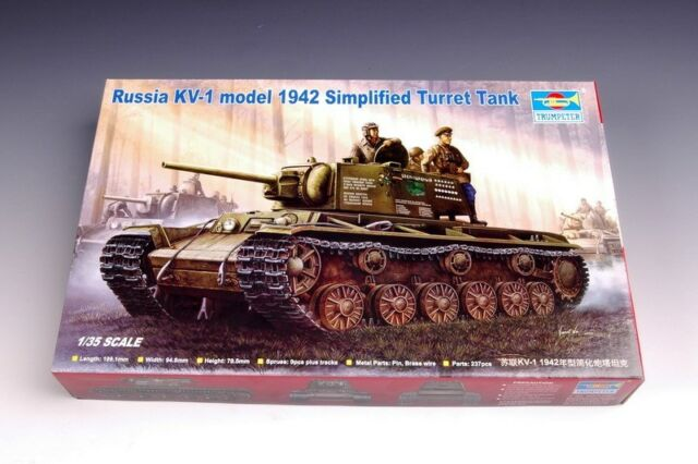 Trumpeter 1/35 00358 KV-1 Model 1942 Simplified Turret