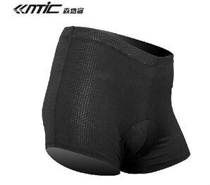 Santic Radsport Fahrradunterhose Unterhose Unterwear 3D Gepolstert Schwarz