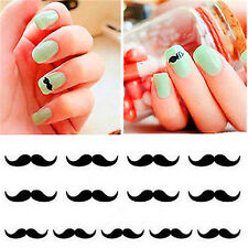 Mustache 3D Design Beauty Nail Stickers Nail Art DIY Stickers Decals ~Mustache~