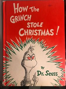 How The Grinch Stole Christmas Book Cover.Details About How The Grinch Stole Christmas Book Hardbound