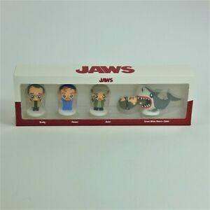 JAWS Pokis Figures Collectibles - Chief Brody - Hooper - Quint - Bruce & Quint