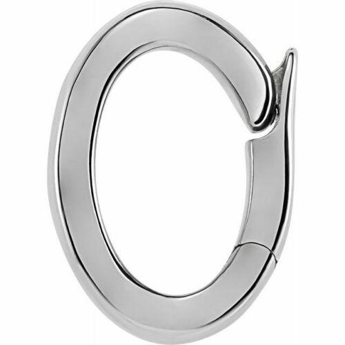 14K 18K Gold-Platinum-Silver Pendant Click in Bail Hinge Pearl Bead Enhancer