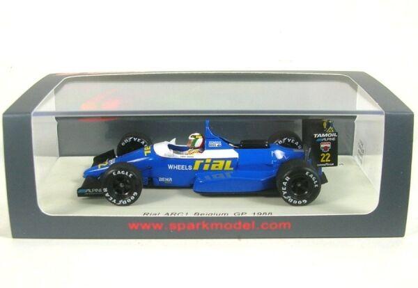 Rial ARC1 no. 22 BELGIAN GP 1988 (Andrea De Cesaris)