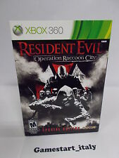 RESIDENT EVIL OPERATION RACCOON CITY COLLECTOR'S EDITION 360 PARLATO ITA - NUOVO