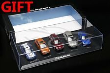 Set of 5 Subaru Car Models (WRX, XV, Forester, Outback, BRZ) 1:43 + SMALL GIFT!!