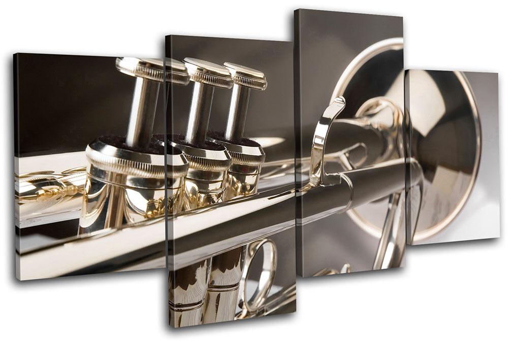 Trumpet INSTRUMENTS Musical Foto MULTI LONA pa rojo  arte Foto Musical impresion 460591