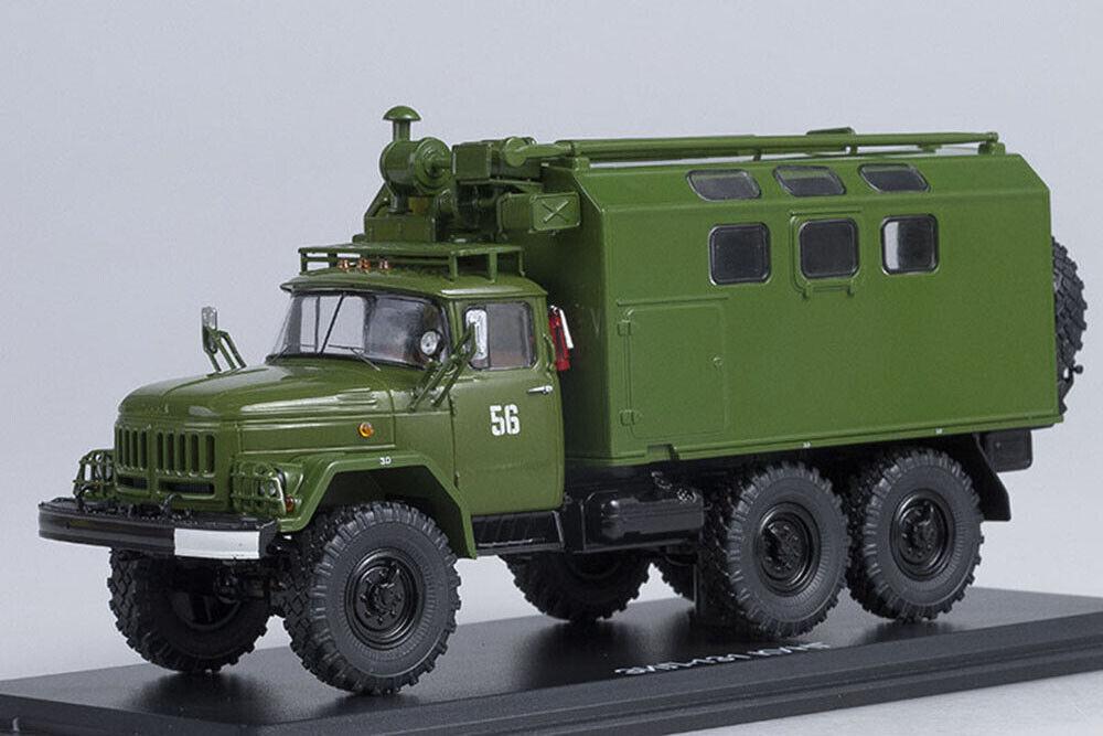 SSM SSM1039 1 43 ZIL 131 KUNG MTO-ATM HAKI (USSR RUSSIAN CAR)
