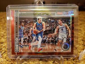 2019-20-Luka-Doncic-NBA-Hoops-Premium-Stock-RED-COURTSIDE-SP-Dallas-Mavericks