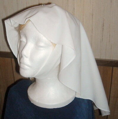 Medieval Veil, Barbette, and veil pins